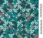 geometric pattern design | Shutterstock .eps vector #707939323