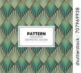 ethnic floral seamless pattern... | Shutterstock .eps vector #707969938