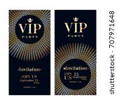 vip club party premium... | Shutterstock .eps vector #707971648