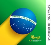 brazil independence day... | Shutterstock .eps vector #707979193