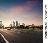 Road Cities Evening - Fine Art prints
