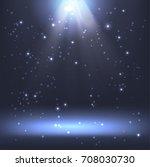 shining light effect background | Shutterstock .eps vector #708030730