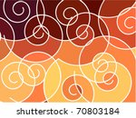 abstract geometric mosaic... | Shutterstock .eps vector #70803184
