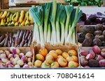 variety of fresh organic...   Shutterstock . vector #708041614