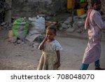 zanzibar  tanzania  february... | Shutterstock . vector #708048070