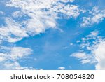 bright sky and fresh air with... | Shutterstock . vector #708054820