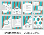 abstract vector layout...   Shutterstock .eps vector #708112243