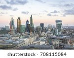 city of london one of the... | Shutterstock . vector #708115084