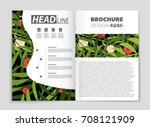 abstract vector layout... | Shutterstock .eps vector #708121909