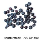 Blueberry Fruit Isolated On A...
