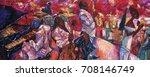 singer  jazz club  saxophonist ... | Shutterstock . vector #708146749