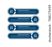 modern infographic target...   Shutterstock .eps vector #708175459