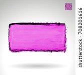 purple brush stroke and texture....   Shutterstock .eps vector #708201616