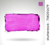 purple brush stroke and texture....   Shutterstock .eps vector #708201679