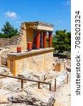 Knossos  Crete  June 10  2017 ...