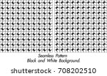 abstract modern black and white ... | Shutterstock .eps vector #708202510