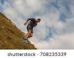 bergamo italy  september 2017... | Shutterstock . vector #708235339