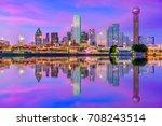 Dallas  Texas  Usa Downtown...