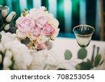 the bouquet | Shutterstock . vector #708253054