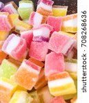 candy and sweet candy sprinkled ... | Shutterstock . vector #708268636