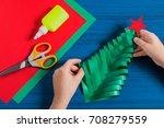 making three dimensional... | Shutterstock . vector #708279559