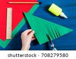 making three dimensional... | Shutterstock . vector #708279580