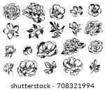 flower set | Shutterstock .eps vector #708321994