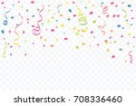 celebration anniversary... | Shutterstock .eps vector #708336460