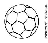 football soccer emblem | Shutterstock .eps vector #708361636
