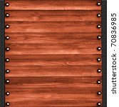 background of the wooden | Shutterstock . vector #70836985