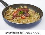 ham pasta | Shutterstock . vector #70837771