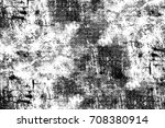 black and white dark grunge... | Shutterstock . vector #708380914