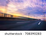 car speed  dynamic background | Shutterstock . vector #708390283