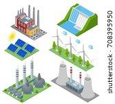 renewable resources and...   Shutterstock .eps vector #708395950