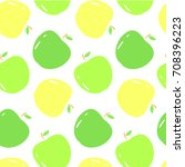 vector seamless pattern with... | Shutterstock .eps vector #708396223