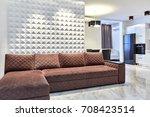 kitchen living room | Shutterstock . vector #708423514