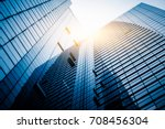 panoramic and perspective wide... | Shutterstock . vector #708456304