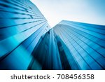 panoramic and perspective wide... | Shutterstock . vector #708456358