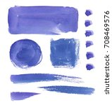 design elements   watercolor... | Shutterstock . vector #708469576