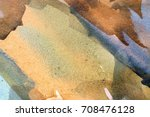abstract watercolor painted... | Shutterstock . vector #708476128