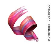 3d render  abstract brush...   Shutterstock . vector #708504820