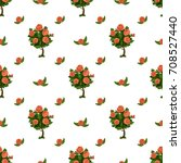 seamless vector pattern with...   Shutterstock .eps vector #708527440