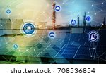 ai artificial intelligence  and ... | Shutterstock . vector #708536854