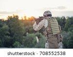 marines in the desert near the