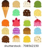 cute vector illustration set of ... | Shutterstock .eps vector #708562150