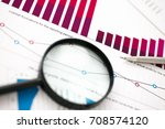 financial statistics documents... | Shutterstock . vector #708574120