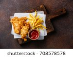 fish and chips british fast...   Shutterstock . vector #708578578