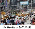 Time Square  New York City  ...