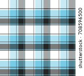seamless tartan plaid pattern.... | Shutterstock .eps vector #708596500
