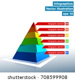 vector illustration of business ... | Shutterstock .eps vector #708599908